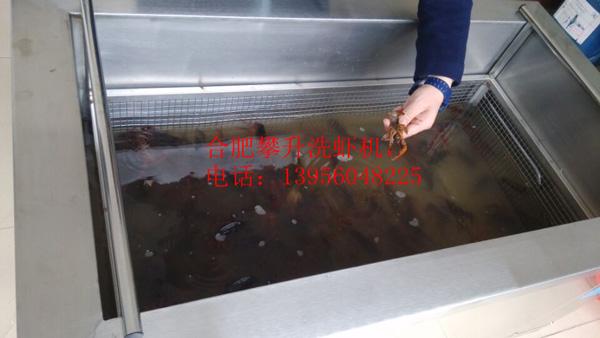 小龙虾清洗机